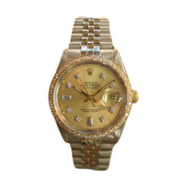 Rolex Datejust Yellow Gold & Stainless Steel Watch