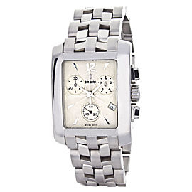 Concord 14.H1.610 Beige Dial Stainless Steel Bracelet Chronograph Womens Watch