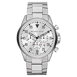 Michael Kors MK8331 Chronograph White Dial Stainless Steel Mens Watch