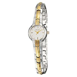 Bulova 98T73 Mother of Pearl Bracelet Womens Watch