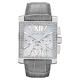 Michael Kors MK5674 Uptown Glam Gia Chronograph Leather Watch