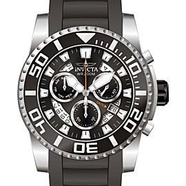 Invicta 14671 Pro Diver Black Dial Polyurethane Band Chronograph Watch