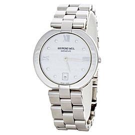 Raymond Weil 5817 Allegro White Dial Stainless Steel Bracelet Quartz Watch