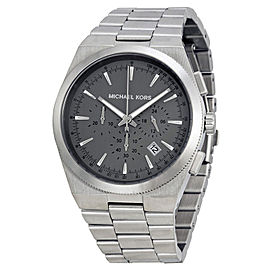 Michael Kors MK8337 Channing Grey Dial Stainless Chronograph Men's Watch