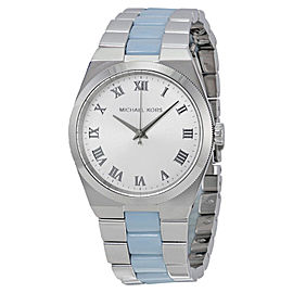 Michael Kors MK6150 Channing Silver Dial Stainless Steel Women's Watch