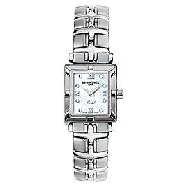 Raymond Weil 9731-PDD Parsifal Diamond Accented MOP Dial Quartz Watch