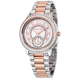 Michael Kors MK6288 Madelyn MOP Dial Two Tone Stainless Steel Womens Watch