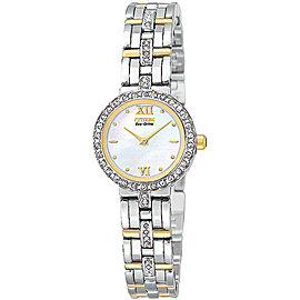 Citizen EW9124-55D Eco-Drive Silhouette Crystal Women's Watch