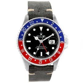Rolex GMT Master II 16710 Stainless Steel 40mm Automatic Mens Watch