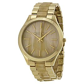 Michael Kors MK4285 Stainless Steel Champagne Dial 42mm Womens Watch