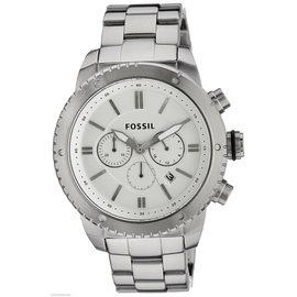 Fossil Logan BQ1724 Stainless Steel Quartz 48mm Mens Watch