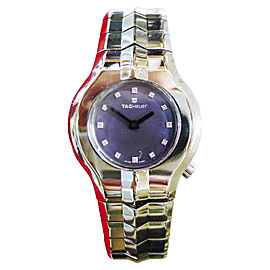 Tag Heuer Alter Ego WP131C Diamond Dial Stainless Steel 29mm Womens Watch