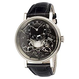 Breguet Tradition 7057BB/G9/9W6 18K White Gold 40mm Mens Watch