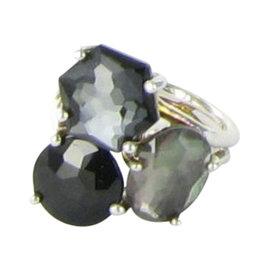 Ippolita Rock Candy SR745blacktie Sterling Silver Multi-gem Cluster Ring Size 6