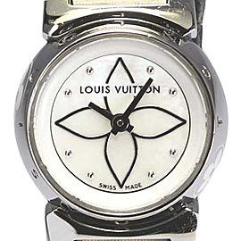 Louis Vuitton Q151C Stainless Steel 18mm Womens Watch