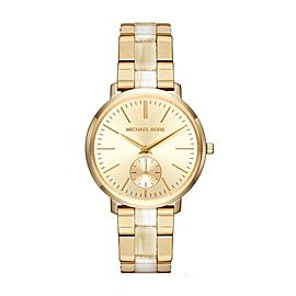 Michael Kors Jaryn MK3510 Gold Dial Stainless Steel 38mm Womens Watch