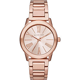 Michael Kors MK3491 Hartman Rose Gold Stainless Steel Rose Gold Dial 38mm Women's Watch