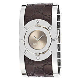 Gucci YA112433 Stainless Steel 23mm Womens Watch