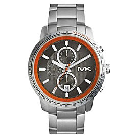 Michael Kors MK8341 Stainless Steel Black Dial Quartz 45mm Men's Watch