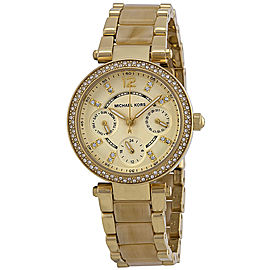 Michael Kors MK5842 Gold Tone Stainless Steel 33mm Womens Watch