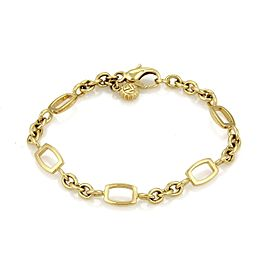 Franck Muller 18K Yellow Gold Talisman Charm Bracelet
