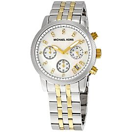 Michael Kors MK5057 Two-Tone Stainless Steel 36mm Womens Watch