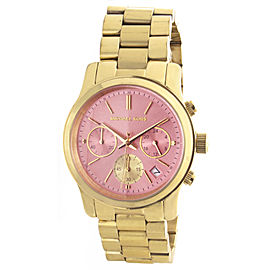 Michael Kors MK6161 Gold Tone Stainless Steel 37mm Womens Watch