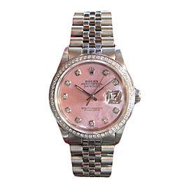 Rolex Datejust Stainless Steel 36mm Unisex Watch