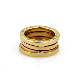 Bulgari Bvlgari B Zero-1 18K Yellow Gold Band Ring Size 5