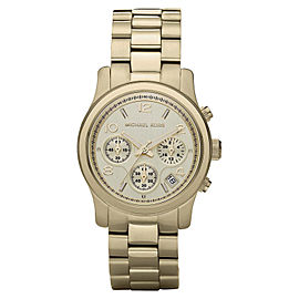 4c12cebac585 Michael Kors MK5055 Gold Tone Stainless Steel 38mm Womens Watch