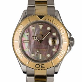 Rolex Yachtmaster 16623 18K Yellow Gold & Stainless Steel Automatic 40mm Mens Watch