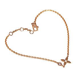 Louis Vuitton 18k Rose Gold with Diamond Bracelet