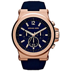 Michael Kors MK8295 Rose Gold Stainless Steel 49mm Mens Watch