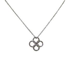 Tiffany & Co. Elsa Peretti Platinum Quadrifoglio Pendant Necklace