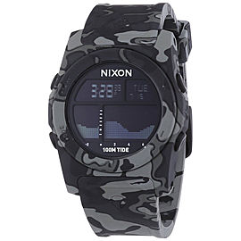 Nixon Rhythm A385-825 Plastic Quartz 41mm Mens Watch