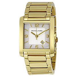 Michael Kors MK3147 Gold Tone Stainless Steel Quartz 29mm Womens Watch