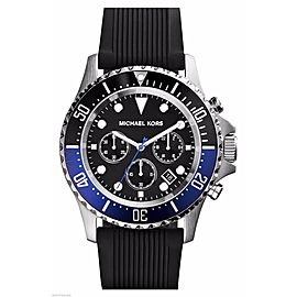 Michael Kors Everest MK8365 Stainless Steel / Rubber Quartz 39mm Mens Watch