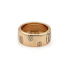 Cartier 18K Rose Gold Band Ring Size 5