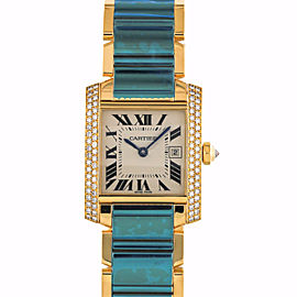 Cartier Tank Francaise 2466 25mm Womens Watch