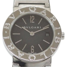 Bulgari Bvlgari BB26SSD Stainless Steel Black Quartz 26mm Womens Watch