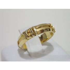 Tiffany & Co. Atlas 18K Yellow Gold Band Ring Size 5.5