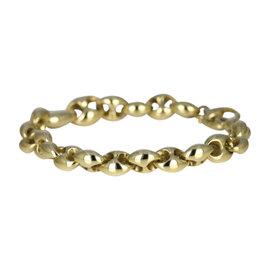 Gucci Marina Horsebit 18K Yellow Gold Bracelet