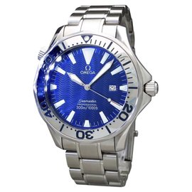 Omega Seamaster Professional Electric Blue 300M 2265.80 41mm Mens Watch