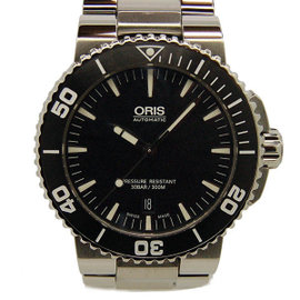 Oris Aquis Date 733 7653 4154 Stainless Steel Automatic 43mm Mens Watch