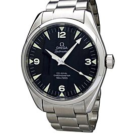 Omega Seamaster Aqua Terra Railmaster Chronometer 2502.52 41mm Mens Watch QH801