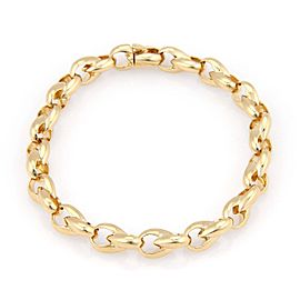 Cartier 18K Yellow Gold Fine Polished Fancy Link Bracelet