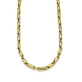 Bulgari Bvlgari 18K Yellow Gold Fancy Link Chain Necklace