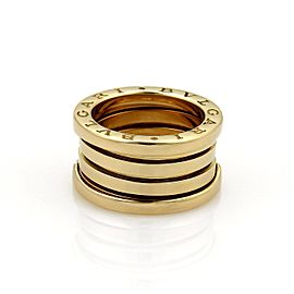 Bulgari B Zero-1 18K Yellow Gold Band Ring Size 5