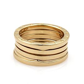 Bulgari B Zero-1 18K Yellow Gold Band Ring Size 9.5