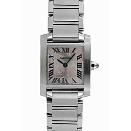 Cartier Tank Francaise W51031Q3 25mm Womens Watch